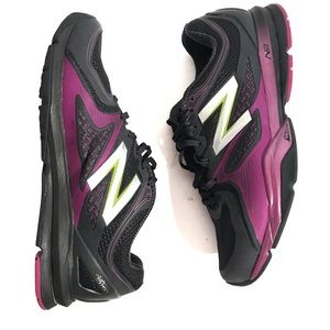 Women's New Balance N2 Size 10 gray and purple